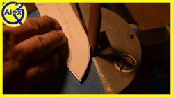 Как просверлить отверстие в ножевой стали