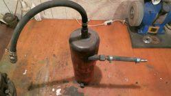 Маслоуловитель для компрессора своими руками