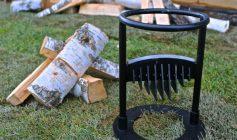 Аппарат для колки дров своими руками
